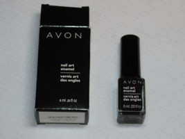 Avon Art Ongles Émaillé Passionné Prune 6 ML 0.20 Fl oz Vernis à Mani Pedi - $10.68
