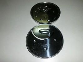 Pair of 2 Cuisinart DLC-7 Round Metal Blade Disc DLC-037TX & DLC-044TX - $24.99