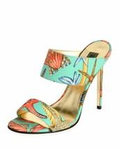 Versace Tresor De La Mer Mule Sandals Size 37 MSRP: $795.00 - $499.99