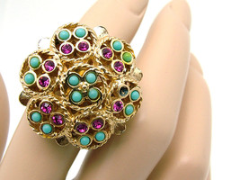 Vintage Sarah Coventry Ring, CEYLON From 1971 - £7.53 GBP
