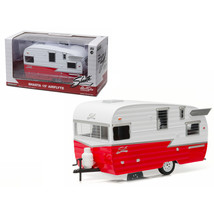 Shasta Airflyte 15 Camper Trailer Red for 1/24 Scale Model Cars and Truc... - $48.62