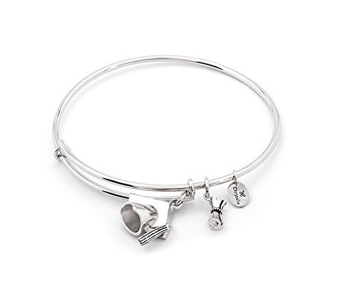 Chrysalis Academia CRBT1212SP Silver Plated Expandable Bangle