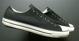 Men's Converse All Star John Varvatos Black Canvas Sneaker Sz. 10.5 WORN... - $56.53