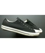 Men's Converse All Star John Varvatos Black Canvas Sneaker Sz. 10.5 WORN... - $56.53