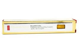 Elizabeth Arden Beautiful Color Luminous Lip Gloss 15 Glamorous Gold  .2... - $17.09