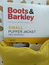 BOOTS AND BARKLEY Yellow Dog Puffer Jacket Vest NEW! --SIZES L & Sm AVAILABLE image 10
