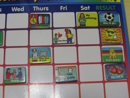 Melissa & Doug Responsibility Chore Calendar Chart Hanging Wood Magnets 282578 - $32.66