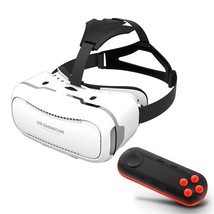 SHINECON 2.0 3D Virtual Reality VR Box with Wireless Bluetooth Remote Co... - $34.18