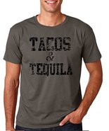 c13739ddc 12.99 Prime Tees Adult Tacos & Tequila T Shirt Large Navy Blue - $12.86