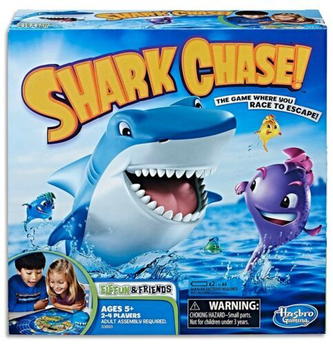 Primary image for Hasbro Shark Chase Board Game For Kids Ages 5+ Elefun and Friends