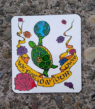 We Are On Our Own Window Sticker Deadhead  Car Decal  Hippie  - $5.49
