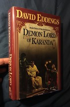 David Eddings DEMON LORD OF KARANDA 1st edition, 1st printing - $34.30