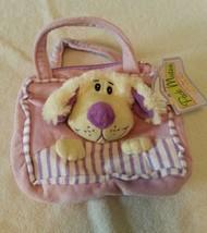 The Original Pack Mates by Kellytoy Handbag Purse. Dog. Puppy. Purple. 2011 - $12.86