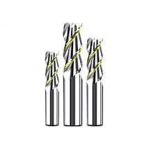 CNC Maching 3 Blade End Mills Top Cutter Wood Alloy Coating Tungsten Ste... - $16.27+