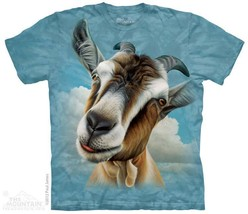 New BIG GOAT HEAD FACE T SHIRT - $18.95+