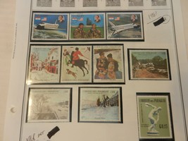 Lot of 15 Paraguay Stamps, 1981 Shuttle, Art U.N. / Paraguay Flag - $14.85