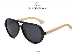 RTBOFY  Polarized Wood Sunglasses Brand Designer Bamboo Sun Glasses For ... - $17.78