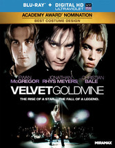 Velvet Goldmine (Blu Ray) (Ws/Eng/Eng Sub/Sp Sub/Eng Sdh/5.1 Dts/Uv Dig Cop