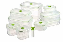 Recipientes Hermeticos Para Almacenar AlimentosPara Congelador 10 Piezas - $93.76