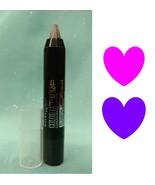 MAYBELLINE Color Tattoo Crayon Eyeshadow & Eyeliner CHARCOAL CHROME Gray... - $12.85