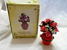 The Boyds collection Treasure Box-Juliet's Bouquet of Love w/ Rosey McNibble - $12.00