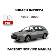 ULTIMATE SUBARU IMPREZA 1993 1994 1995 1996 1997 1998 1999 2000 WORKSHOP... - $14.95
