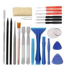 22 In 1 Mobile Phone Repair Hand Tool Kit Screwdriver Set Tweezers Metal... - $16.70