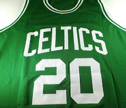 RAY ALLEN / NBA HALL OF FAME / AUTOGRAPHED BOSTON CELTICS CUSTOM JERSEY / COA image 2