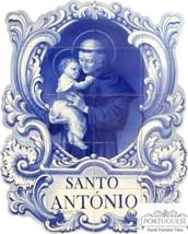 ST. ANTÓNIO Hand Painted Ceramic Tile Mural Backsplash   Custom Painted ... - $595.00
