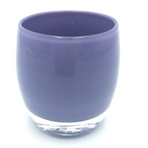 "glassybaby Glassy Baby Votive Handblown USA Purple SISTER 3.5"" Candle Ho... - $199.99"