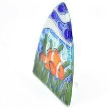 Fused Art Glass Clown Fish Ocean Marine Nightlight Night Light Handmade Ecuador image 3