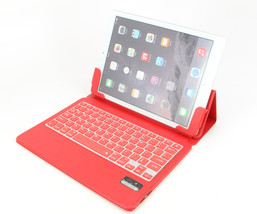 Ultra Slim iPad Air 2 Folio ABS Wireless Bluetooth Keyboard Case Station... - $23.76