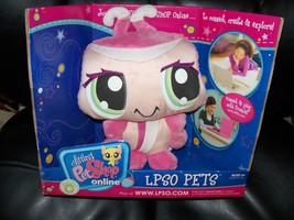 Littlest Pet Shop Online LPSO LPS Pink Ladybug Lady Bug Plush New - $35.20