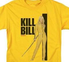 Kill Bill Volume 1 Thurman Carradine 2003 Mystery Movie graphic t-shirt MIRA106 image 2