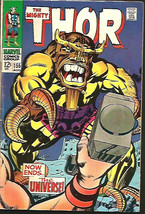 THOR #155 SILVER AGE JACK KIRBY STAN LEE Marvel Comics 1968 1st Print & ... - $37.62