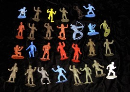 MPC Ring Hand Marx Play Set Figures Vintage Toy Soldier - $29.99