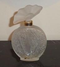 "Early Daniel Aubusson Histoire D' Amour Bottle Glass Stopper 5.5"" Tall - $34.00"