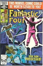 Fantastic Four Comic Book #222 Marvel Comics 1980 VERY FINE+ - $4.50