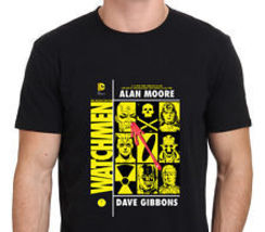 Watchmen DC Superhero Comic Book T-Shirt Black Size S-to-XXL - $14.99+