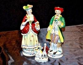 Colonial Elizabeth Figurine AA18-1270Vintage Couples image 2