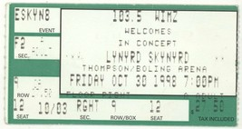 COOL Lynyrd Skynyrd 10/30/98 Knoxville TN Thompson Boling Arena Ticket S... - $3.95