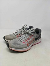 Nike Womens Air Zoom Pegasus 33 Running Shoes Gray 831356-006 Mesh Low Top 9.5 M - $29.69