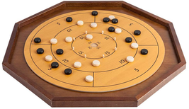 "GAMELAND Crokinole Checkerboard Board Game Tournament Discs Size Kids Adults 30"" - $141.50"