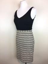 Ann Taylor Loft Painted Burlap Canvas Skirt Tank Dress / Women's Size 0 - $15.15