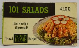 101 Salads An American Home Cook Booklet - $4.75