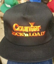 Counter Lock n Load Hat Cap Snapback Black Trucker Insecticide Farm Agri... - $9.74