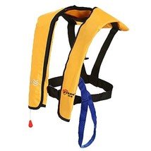 Eyson Inflatable Life Jacket Life Vest Basic Yellow Manual - $67.02