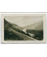 Baltimore Ohio Railroad Track Cheat River Canyon Rowlesburg WV 1910c pos... - $6.39