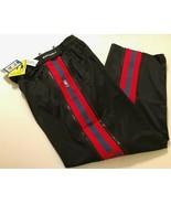 Zipway NBA Atlanta Hawks Men's Black Red Reversible Panel Pant XL New - $49.49