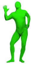 Skin Suit Green Adult Standard  Costume - $42.72